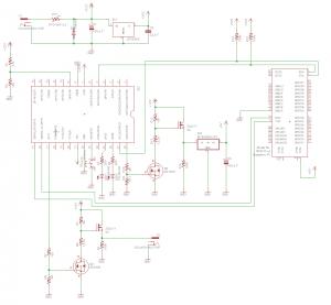 簡単な回路図