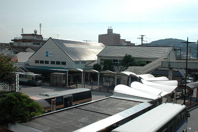 在りし日の下関駅舎
