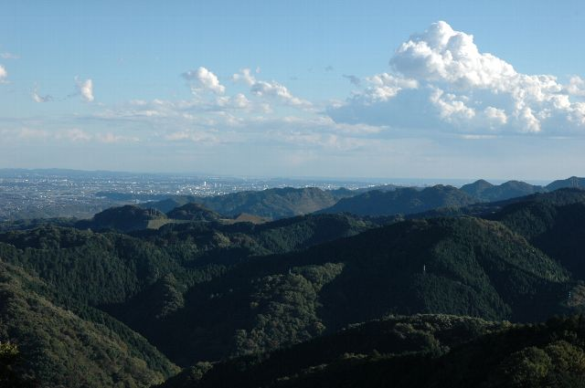 高尾山にて