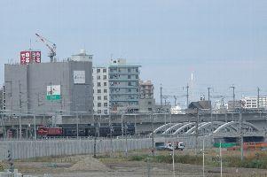 仙台〜長町(長町駅ホーム先端)
