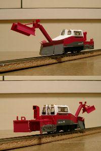 除雪モーターカー