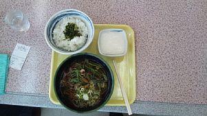 山菜蕎麦&とろろ飯
