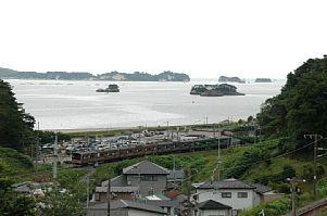 陸前浜田~松島海岸